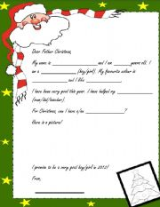 Christmas letter templates all these worksheets and activities for teaching christmas letter have spiritdancerdesigns Image collections