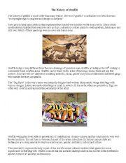 English Worksheet: History of Graffiti