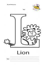 English Worksheets: letter r