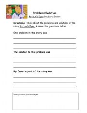 Printables Problem And Solution Worksheets english worksheets problemsolution worksheet for eyes eyes
