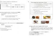 English Worksheets: Writing test 2