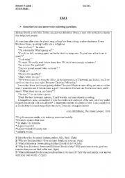 English Worksheets: Charities