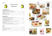English Worksheet: English breakfast project