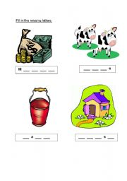 English Worksheets: Chad the milkman