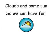 English Worksheet: Weather-rhymes