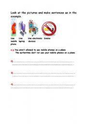 English Worksheet: Exercise on