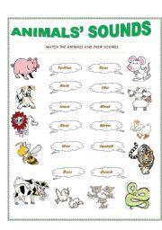 animals sounds esl worksheet by trisnagt. Black Bedroom Furniture Sets. Home Design Ideas
