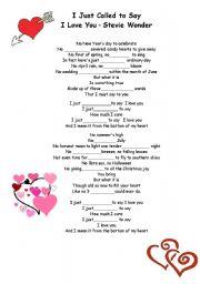 song worksheet for st valentine s day esl worksheet by eugina15. Black Bedroom Furniture Sets. Home Design Ideas