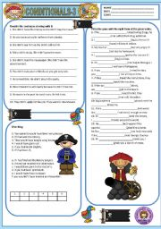 English Worksheet: CONDITIONALS - TYPE 3