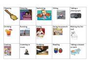 English Worksheet: charades game