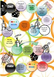 English Worksheet: Food & restaurant - speaking -