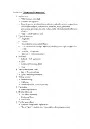 English Worksheets: Writing: Principles of Writing