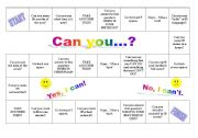 Board Game - Can you ...?