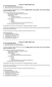 English Worksheet: Urban Tribes