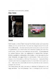 Appreciation of a film - Gran Torino for ESL Learners