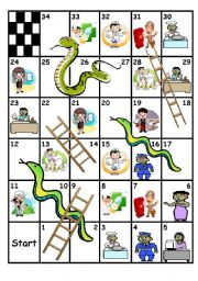 Professions - Snakes and Ladders