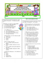 English Worksheets: CORNERSTONE SKILLS