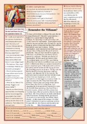 English Worksheets: The milkman revival!