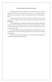 English Worksheets: Example of Hortatory Exposition Text
