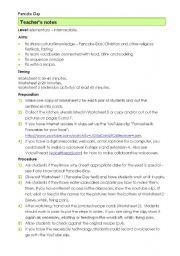 English Worksheet: Pancake day part 1