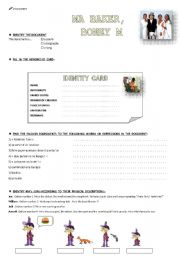 English Worksheets: MA  BAKER, Boney M ( part 2 )
