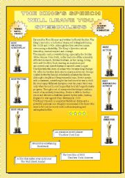 English Worksheets: and the Oscar goes to ......