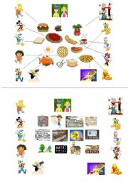English Worksheets: Pair-work Game (1/2)