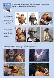 English Worksheets: DISNEY�S FILM