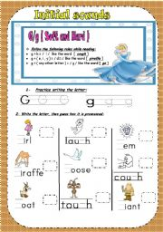Printables Hard And Soft G Worksheets printables hard and soft g worksheets safarmediapps phonetics for young students