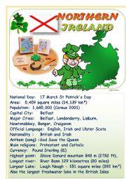 Speak about English-speaking countries: Northern Ireland