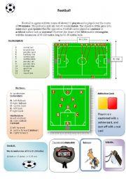 English Worksheet: Football terminology