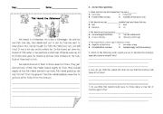 English Worksheets: Pak Hamid the fisherman