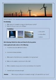 National Geographic Renewable Energy Video