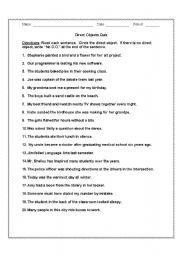 Worksheets Direct Objects Worksheet direct object worksheets fireyourmentor free printable nouns as objects worksheet