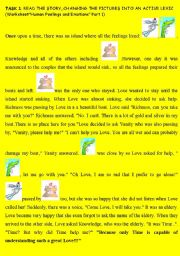 Human feelings and emotions part 2 a fairy tale about human feelings