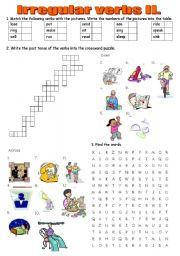 Irregular verbs practice II - Past Simple. Keys included