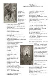 English Worksheets: The Raven by Poe - Worksheet