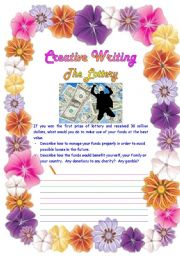 Creative writing for class 1
