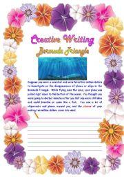 English Worksheets: Creative Writing 02