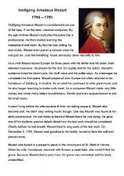 The Classical Period, Haydn, & Mozart Worksheet by Stephanie Gust