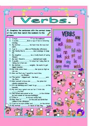 Verbs mixed tenses