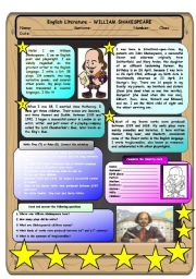English Literature - William Shakespeare
