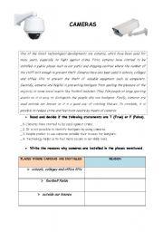 English Worksheets: technolgy-cameras