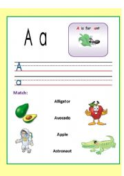 Alphabets WS. (1-3)