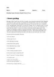 simple present tense-quiz