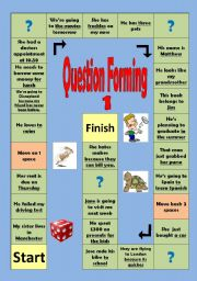 English Worksheets: Question forming