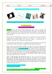 English Worksheets: Dr. Howard Kelly