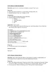 English Worksheet: Lesson Plans Ukraine