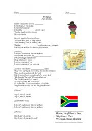 Weeping Monsters - An introduction to Apartheid South Africa - ESL ...