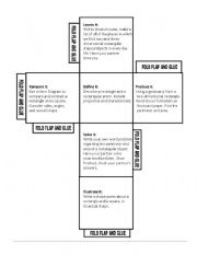 English Worksheets: Cube - Math (rectangles) --Differentiated